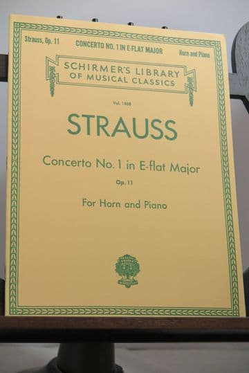 Strauss R - Concerto No 1 in E Flat Op 11 for Horn and Piano